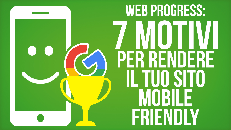 rendere il sito mobile friendly