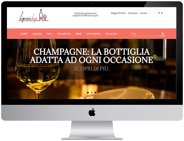liquorishop Prestashop WebProgress