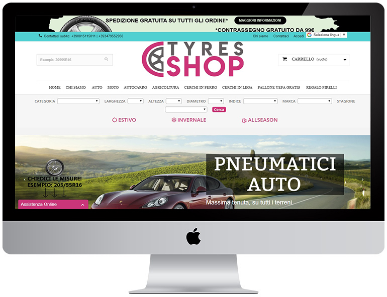 tyres-shop Prestashop WebProgress